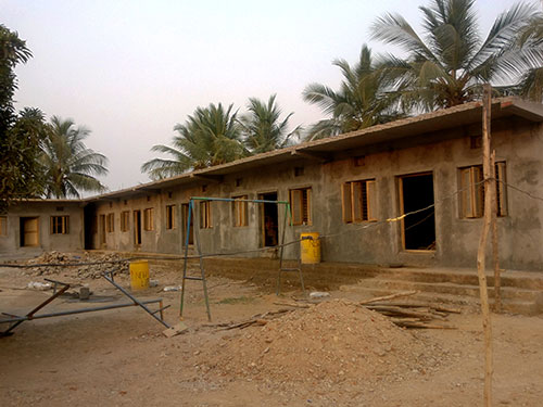 New building for Rajasthan children